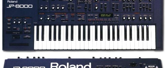 Синтезатор Roland jp 8000
