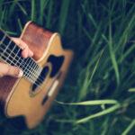 Гитара на траве