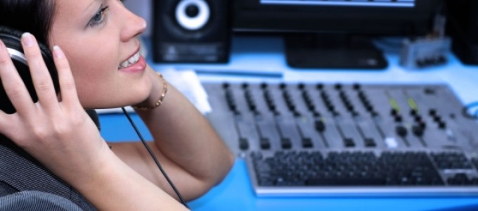 На студии звукозаписи
