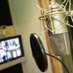 Микрофон на студии