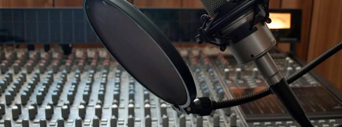 Запись дикторского голоса