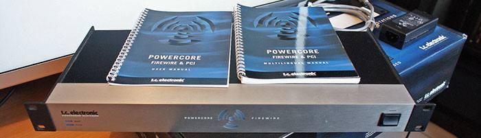 Система обработки T.C. Electronic Powercore