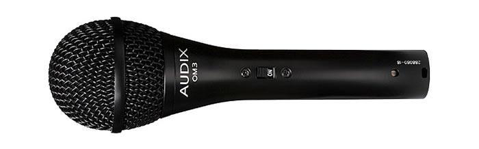 Audix OM3 — вокальный динамический микрофон