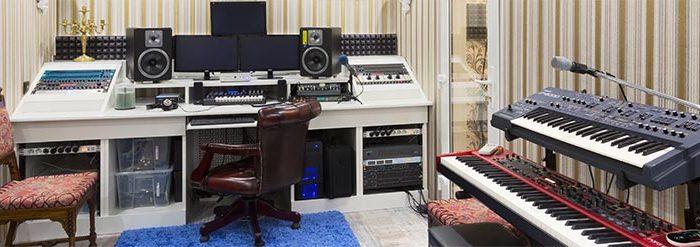 Аренда студии звукозаписи в Москве