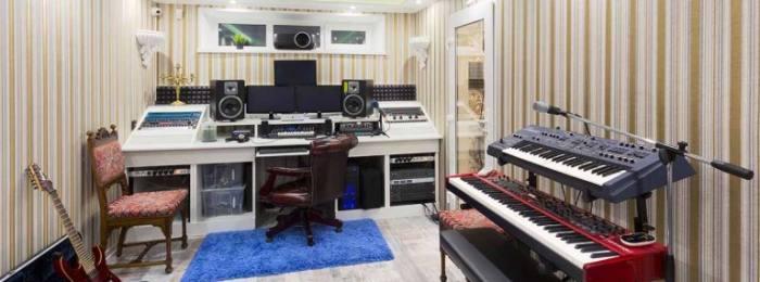аренда помещения студии звукозаписи