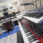 Roland и Nord Stage 2 - Вид на студию