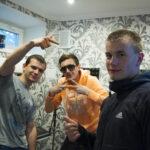 Запись рэпа на студии звукозаписи