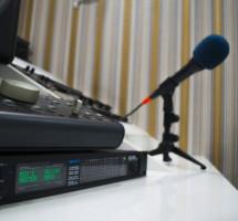 Big Knob, звуковая карта Motu и микрофон