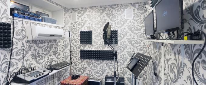 Вокальная комната на студии