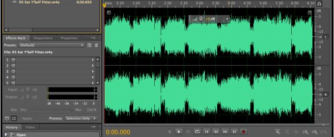 Удаление шума с аудиодорожки