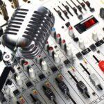 Микрофон и микшерный пульт