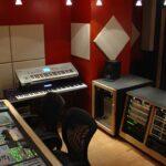 Оборудование на музыкальной студии