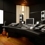 Стильная студия звукозаписи