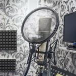 Микрофон Neumann в вокальной комнате