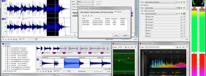 Sound Forge уроки