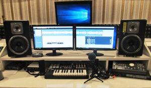 Оборудование студии звукозаписи