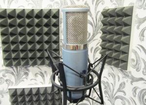 Записать голос в студии
