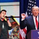 Музыкант принял участие в марше протеста против Трампа