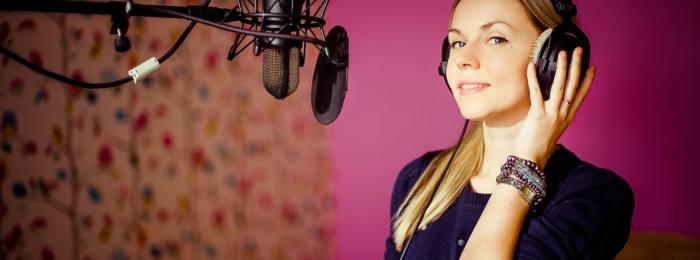 Запись рекламы в студии