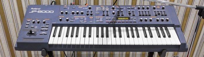 Roland JP-8000 — классический аналоговый синтезатор