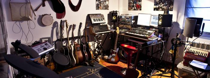 Студия для записи рока