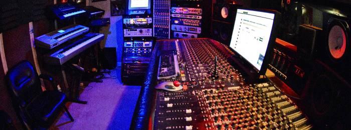 Студия для записи рэпа