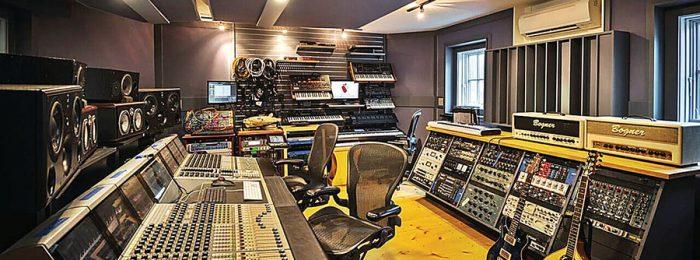 Продакшн студия звукозаписи