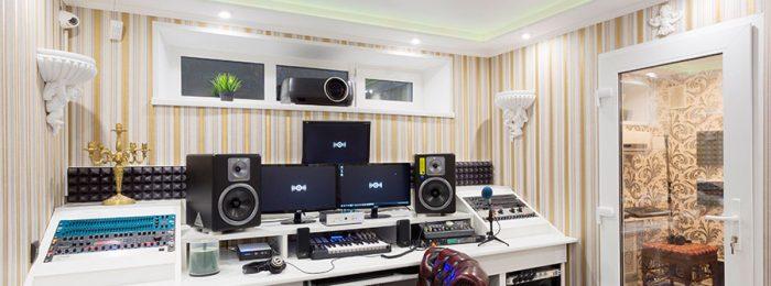 Рэп-студия звукозаписи