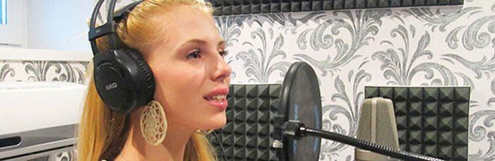 Звукозапись вокала в студии