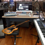 Студия звукозаписи с роялем